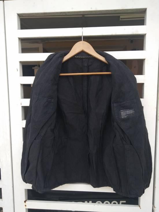 Julius Julius 2004 The Structure Black Cotton Coat Jacket Blazer Size US S / EU 44-46 / 1 - 2