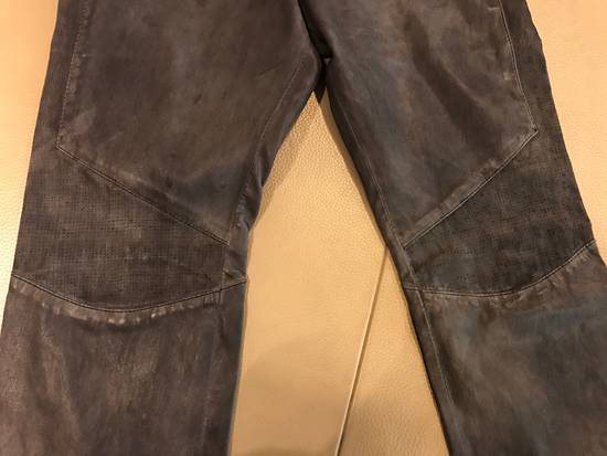 Balmain Balmain Leather Sweatpants / Leggings / Pants Size US 30 / EU 46 - 5