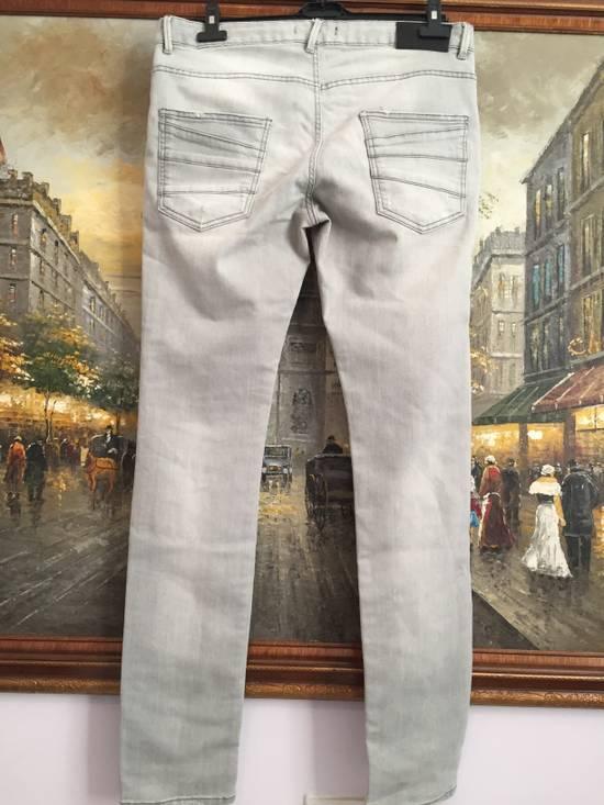 Balmain Stone grey Balmain ripped jeans Size US 33 - 3