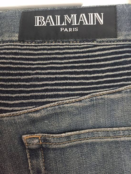 Balmain ss12 Biker jeans (fit 28) Size US 29 - 5