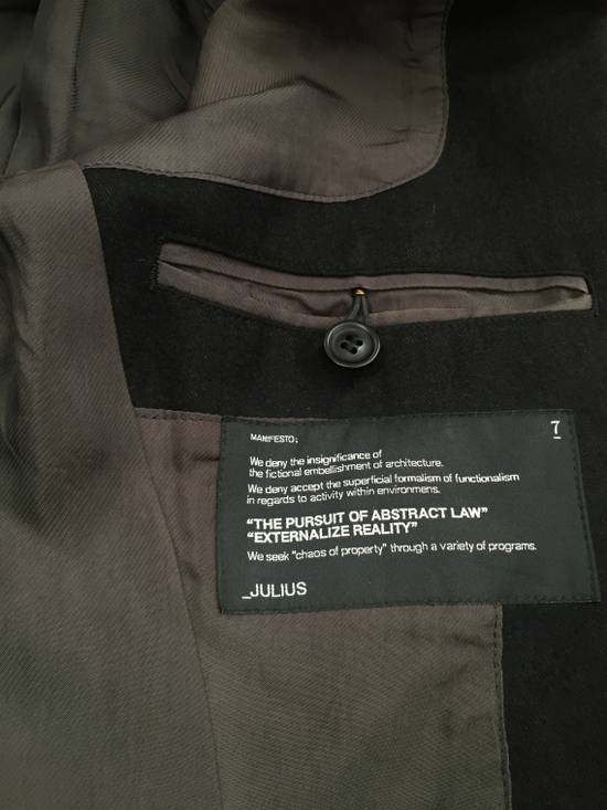 Julius Angora Double Layer Skirted Blazer Size 46R - 9
