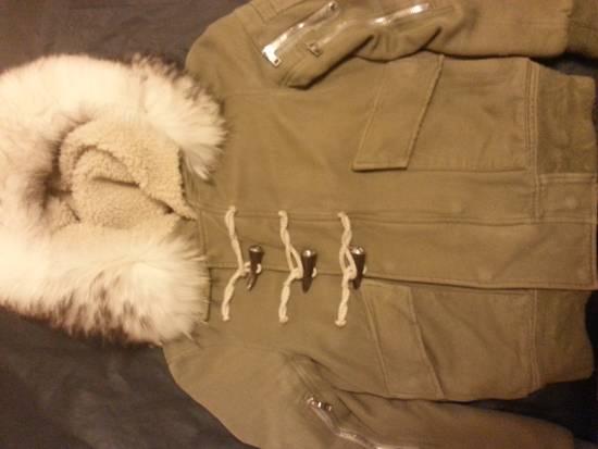 Balmain Raccoon Fur Parka Size US S / EU 44-46 / 1 - 6