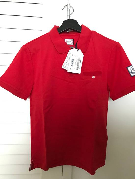 Thom Browne Red Cotton Polo Size US XS / EU 42 / 0