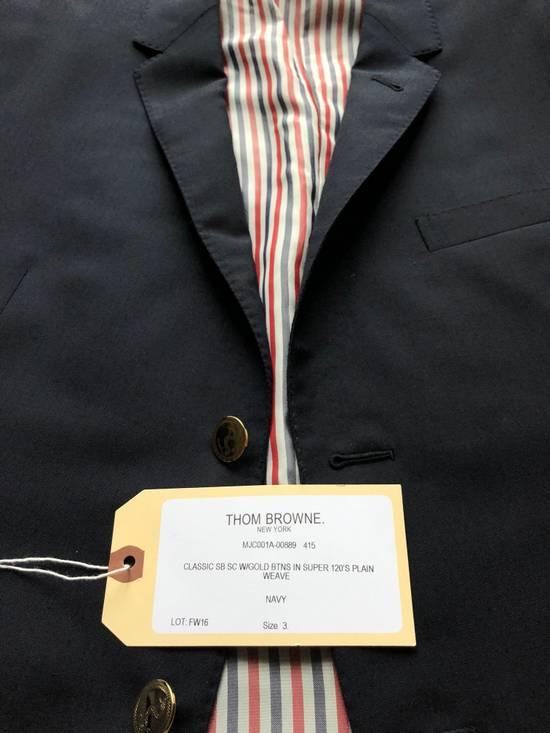 Thom Browne Thom Browne Navy Blazer - 3 roll 2 - Size 3 Size 40R - 4