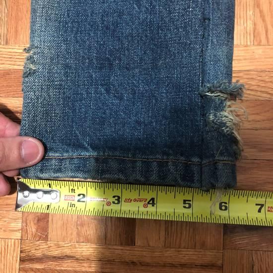 Balmain FW13 Oil Destroyed Indigo Jeans Size 30 (ALTERED) Size US 30 / EU 46 - 11