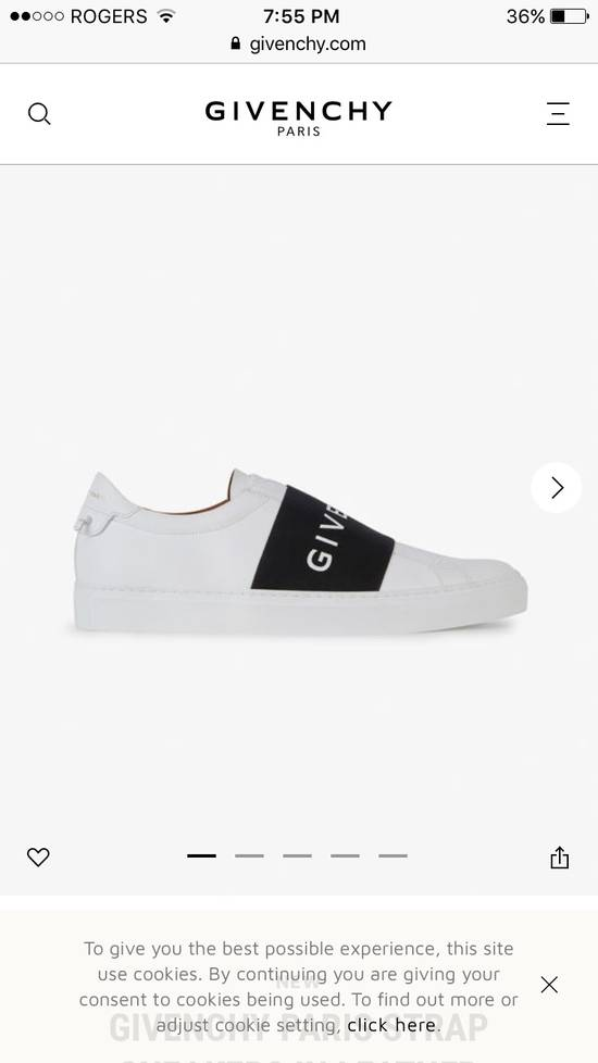 Givenchy GIVENCHY BAND SNEAKER LOW ANY SIZE Size US 9 / EU 42