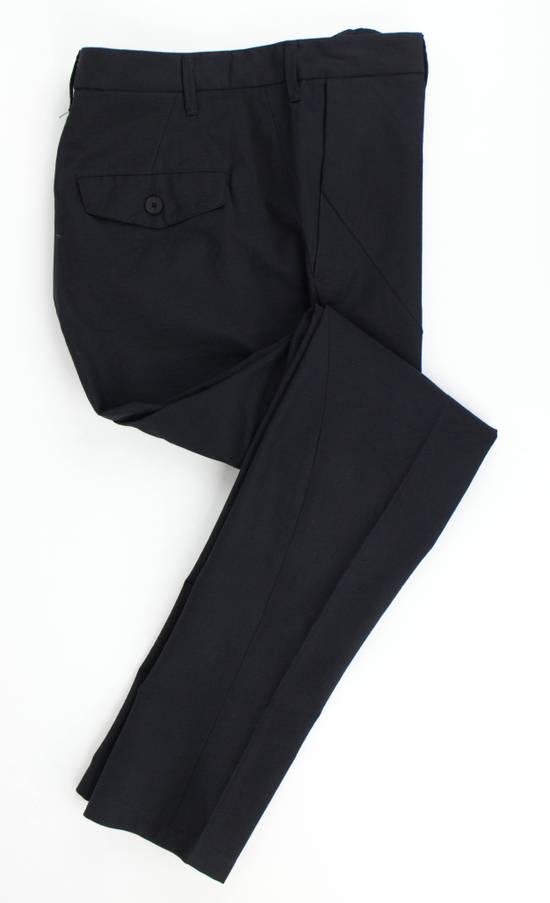 Julius 7 Black Cotton Blend Casual Trousers Pants Size 2/S Size US 32 / EU 48