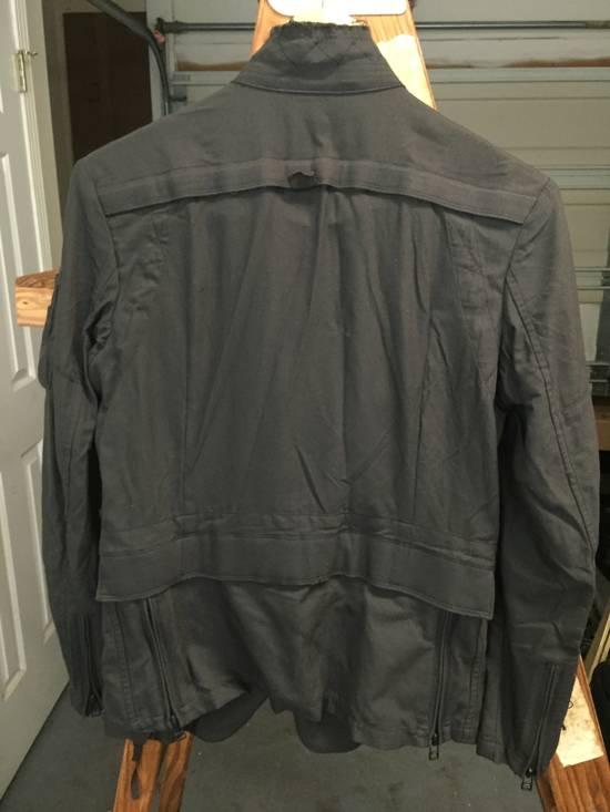 Julius AW06 Multi Zip Distressed Military Jacket Size US XS / EU 42 / 0 - 7