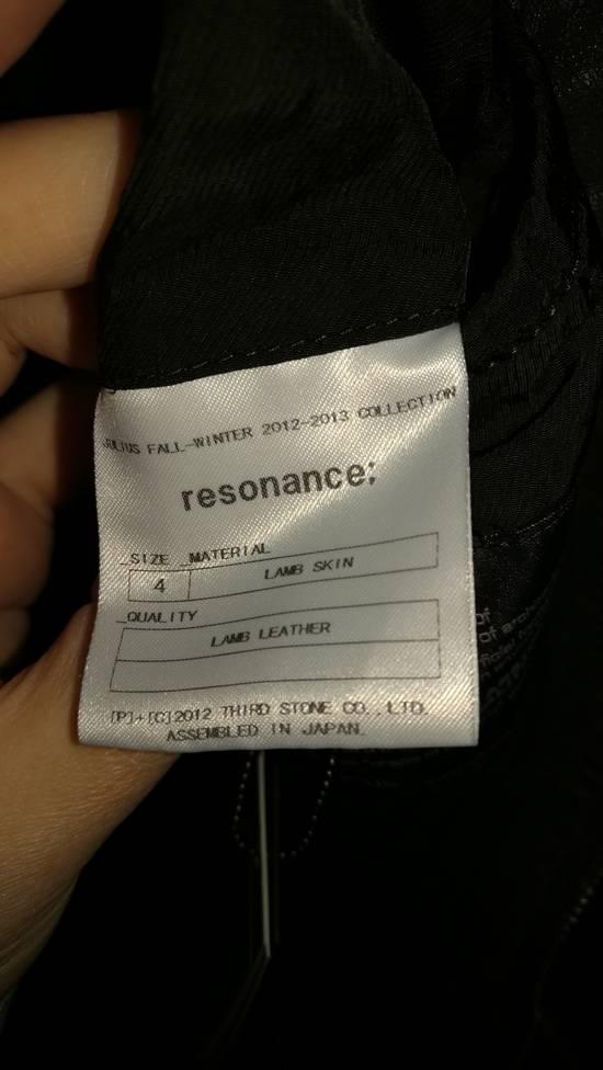 Julius BNWT Size 4 Moldable Collar Leather High Neck Jacket Size US XL / EU 56 / 4 - 13