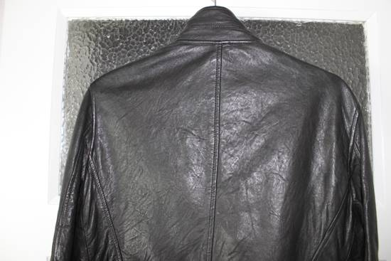 Julius 11aw halo asymmetrical leather jacket Size US M / EU 48-50 / 2 - 4