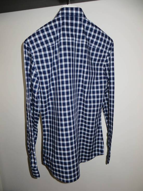 Givenchy Blue check- shirt Size US M / EU 48-50 / 2 - 9