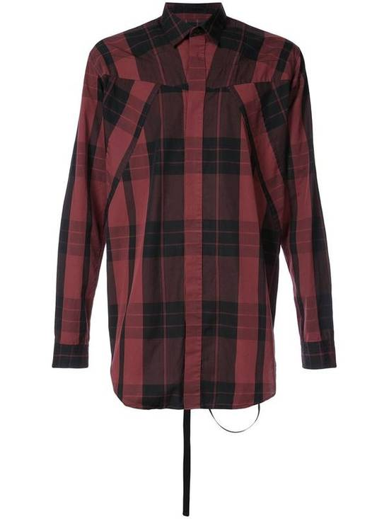 Julius Red Check Panel Shirt Size US M / EU 48-50 / 2 - 3