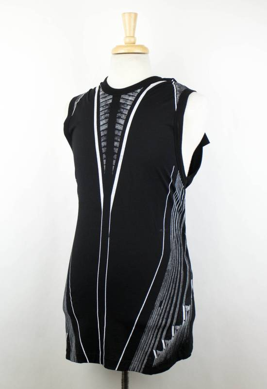 Julius 7 Black Cotton Blend Graphic Tank Top T-Shirt Size 2/S Size US S / EU 44-46 / 1 - 1