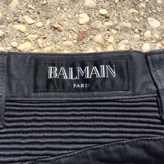 Balmain Gray Biker Jeans Size US 27 - 11