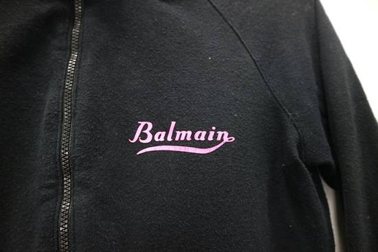 Balmain Vintage Balmain Paris Sweatshirts Zip Up Black Color Small Logo Spellout size 38 Size US S / EU 44-46 / 1 - 1