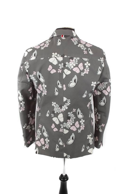 Thom Browne Thom Browne Grey Butterfly Print Blazer Size 40R - 3