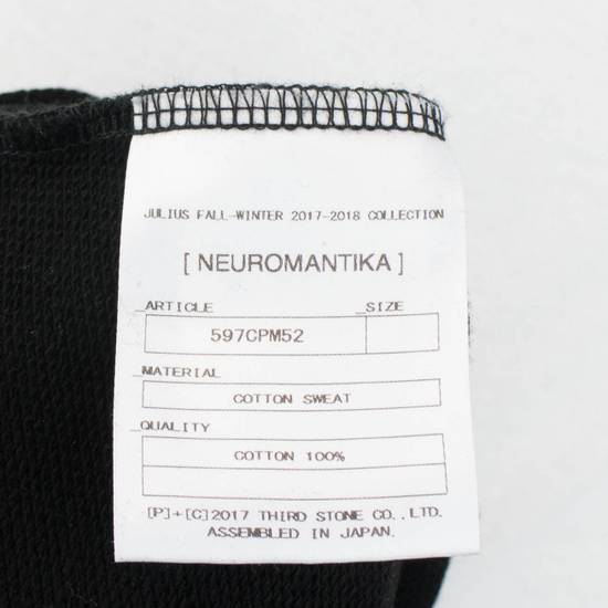 Julius 7 Men's Black Cotton '1984' Crewneck Sweater Size 3/M Size US M / EU 48-50 / 2 - 5