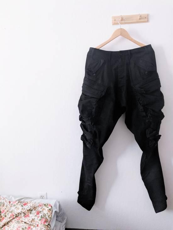 Julius Glitch; Gas Mask Cargo Pants Size US 32 / EU 48 - 1