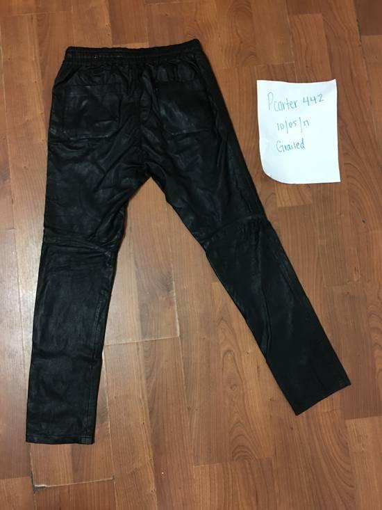 Balmain Balmain leather joggers Size US 30 / EU 46 - 2