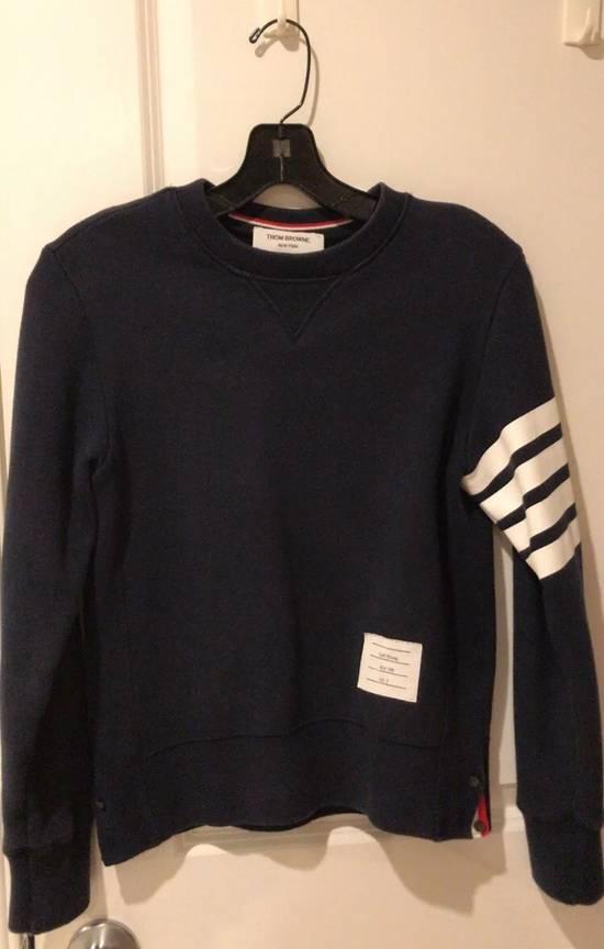 Thom Browne Printed 4 Stripes Signature Sweatshirt Size US XS / EU 42 / 0