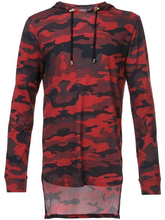 Balmain Balmain Red Camo Hoodie Size US S / EU 44-46 / 1
