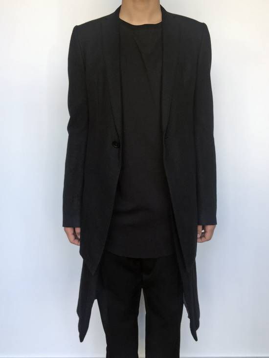 Julius Angora Double Layer Skirted Blazer Size 46R - 4