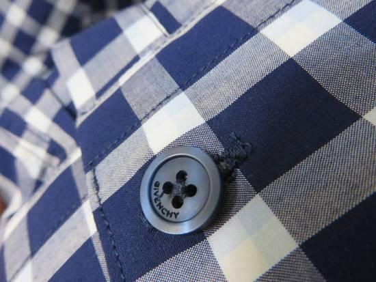 Givenchy Blue check- shirt Size US M / EU 48-50 / 2 - 6