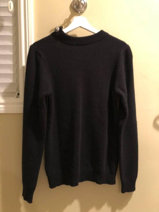 Balmain Black Cashmere Sweater Size US XS / EU 42 / 0 - 1