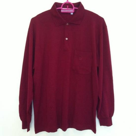 Givenchy Vtg 80s Givenchy Gentlemen Paris Designer Polo Shirt Wool Fabric Mens Size M Made in Italy Size US M / EU 48-50 / 2