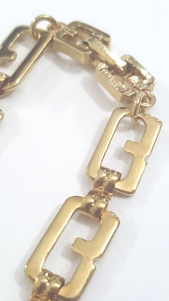 Givenchy Gold plated necklace G link Size ONE SIZE - 6