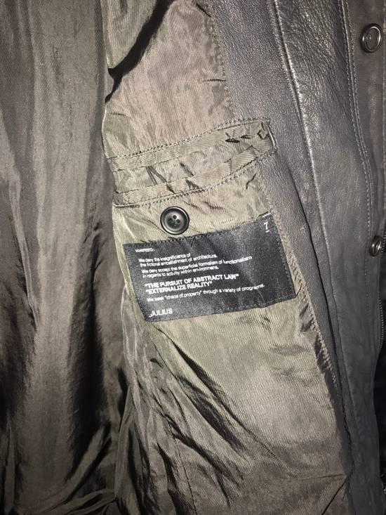 Julius Julius SS12 Runway Leather Jacket Size US M / EU 48-50 / 2 - 4