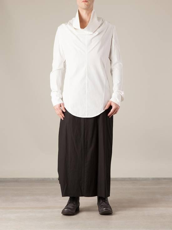 Julius SS14 high collar shirt (BLACK) Size US S / EU 44-46 / 1