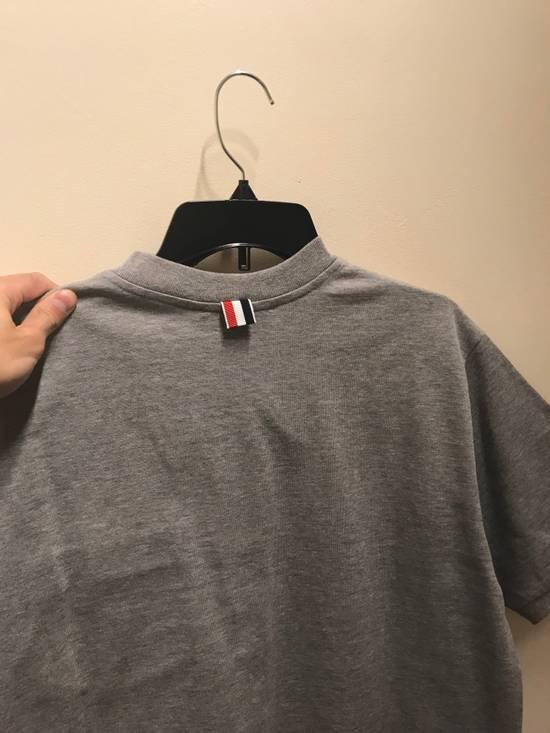 Thom Browne XS & XXL Mock Polo in Grey Size US XXL / EU 58 / 5 - 8