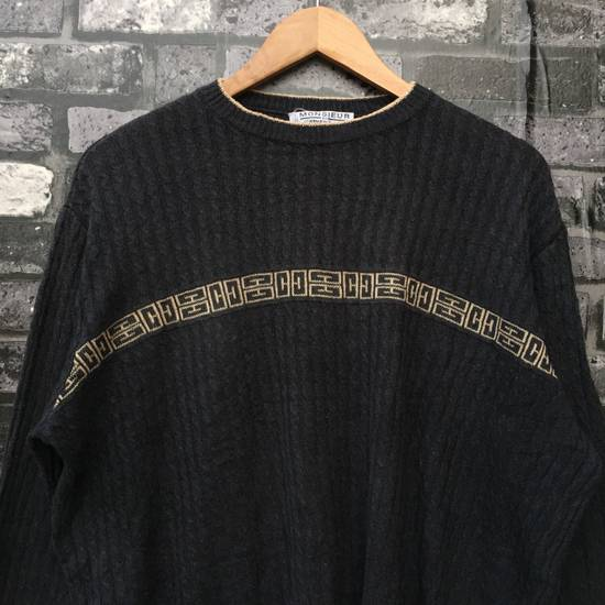 Givenchy MONSIEUR By GIVENCHY Knitwear Rare Vintage Givenchy Made in Italy Sweatshirt Size US M / EU 48-50 / 2 - 1