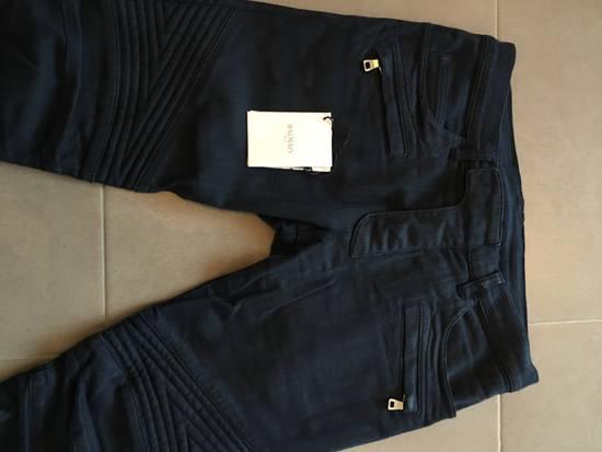 Balmain Balmain Denim Blue Biker Size US 30 / EU 46 - 4