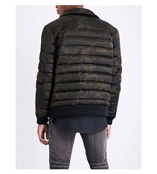 Balmain Camouflage-print shell-down puffer jacket Size US M / EU 48-50 / 2 - 6