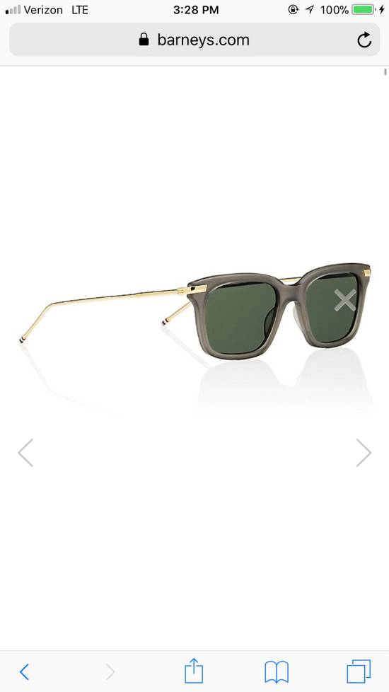 Thom Browne TB701 Crystal Grey / Gold Size ONE SIZE - 3