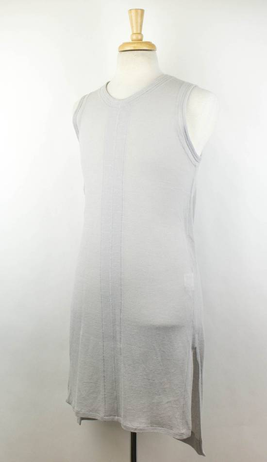 Julius MA_JULIUS Gray Cotton Blend 'Plaster' Long Tank Top T-Shirt Size 3/M Size US M / EU 48-50 / 2 - 1