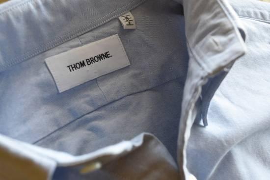 Thom Browne Classic Blue Oxford Shirt Size US L / EU 52-54 / 3 - 4