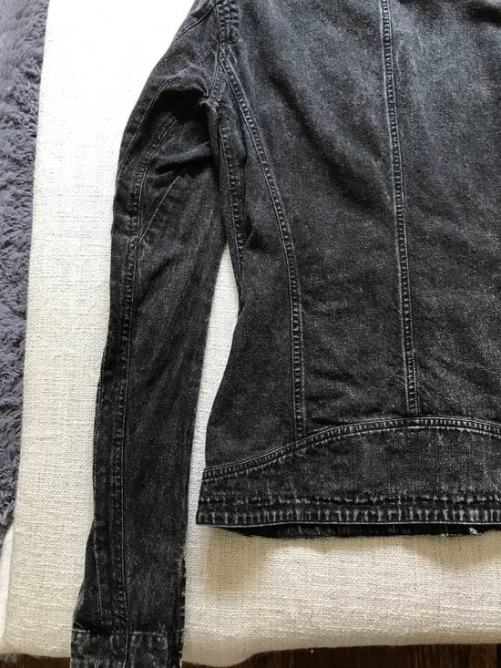 Julius AW12 faded denim jacket with zip. Size US M / EU 48-50 / 2 - 7