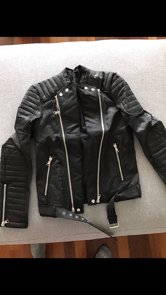Balmain Leather Jacket Size US S / EU 44-46 / 1