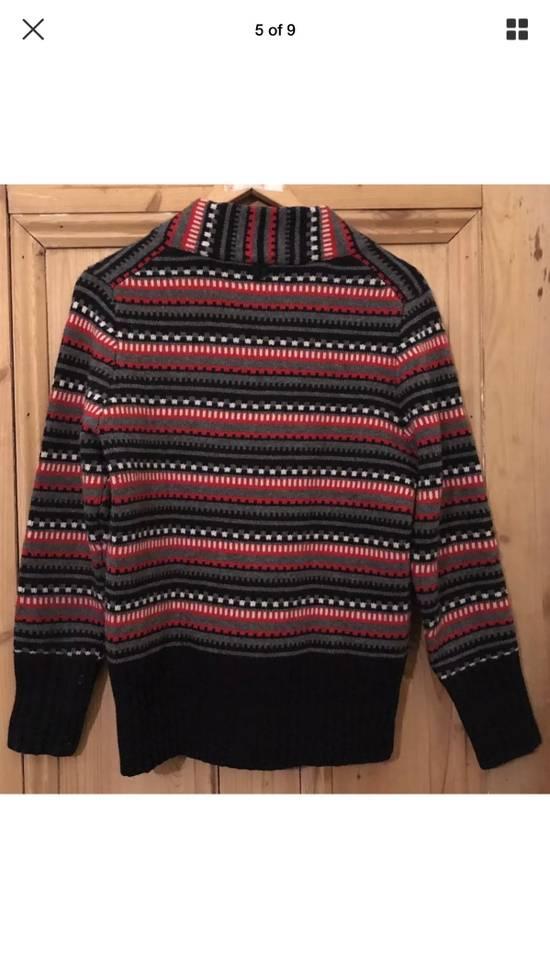 Thom Browne Black Fleece Wool Chunky Cardigan Size US L / EU 52-54 / 3 - 2