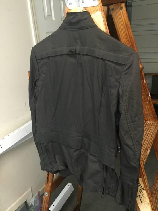 Julius AW06 Multi Zip Distressed Military Jacket Size US XS / EU 42 / 0 - 8