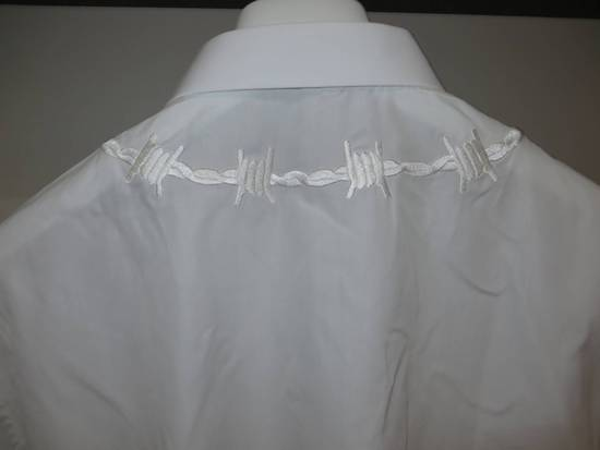 Givenchy Barbed wire embroidered shirt Size US S / EU 44-46 / 1 - 3
