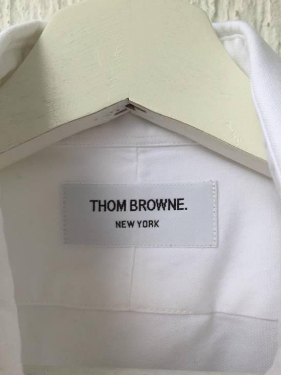 Thom Browne GROSGRAIN ARM BAND OXFORD SHIRT Size US S / EU 44-46 / 1 - 3