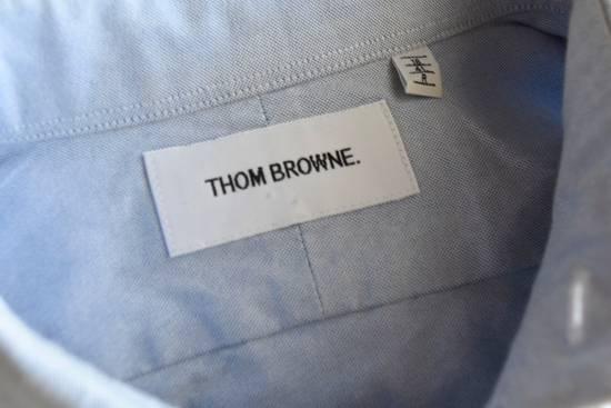 Thom Browne Classic Blue Oxford Shirt Size US L / EU 52-54 / 3 - 6