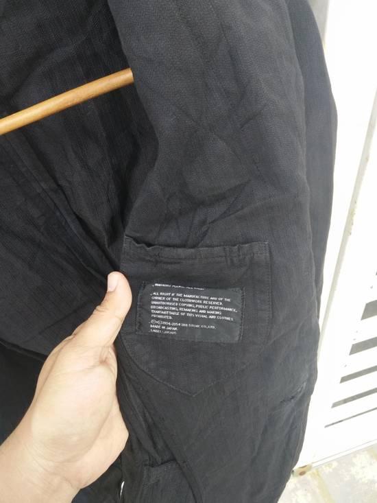 Julius Julius 2004 The Structure Black Cotton Coat Jacket Blazer Size US S / EU 44-46 / 1 - 11