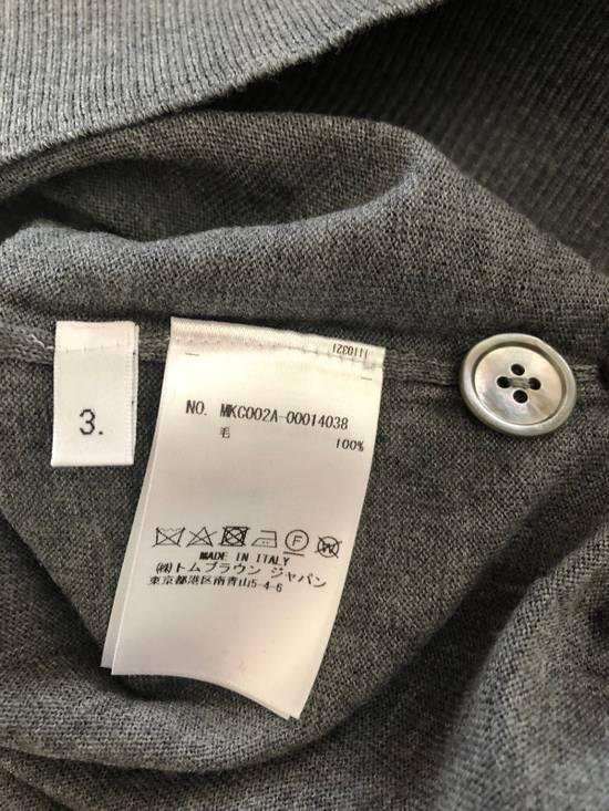 Thom Browne Merino Wool 4 Bar Cardigan Size US L / EU 52-54 / 3 - 12