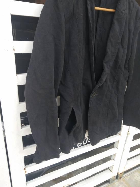 Julius Julius 2004 The Structure Black Cotton Coat Jacket Blazer Size US S / EU 44-46 / 1 - 7