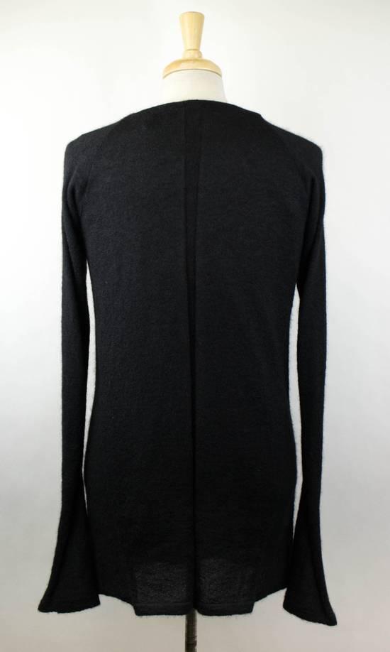 Julius 7 Black Silk-Mohair 'Square Neck Panelled' Sweater Size 1/XS Size US XS / EU 42 / 0 - 3
